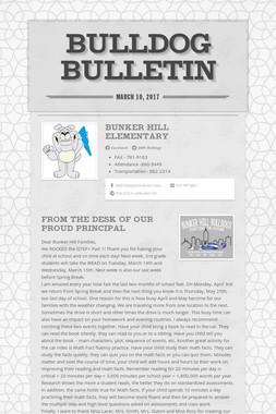 Bulldog Bulletin