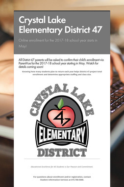 Crystal Lake Elementary District 47