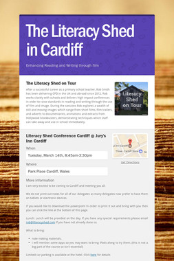 The Literacy Shed in Cardiff