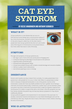 Cat Eye Syndrom
