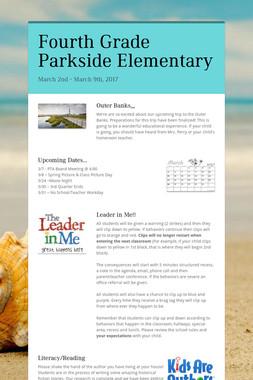 Fourth Grade Parkside Elementary