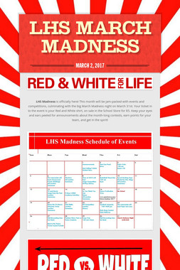 LHS March Madness