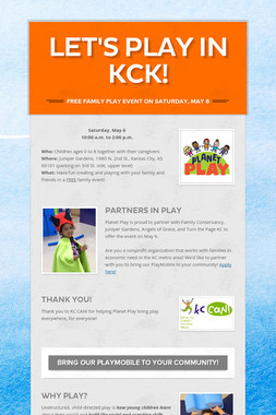Let's Play in KCK!
