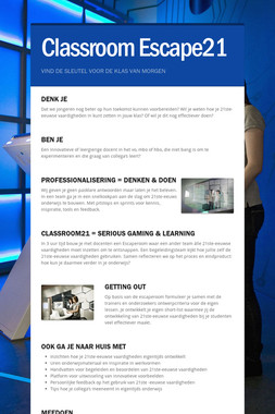 Classroom Escape21