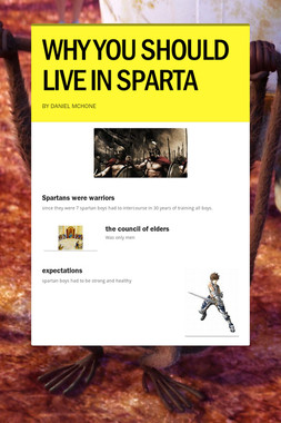 WHY YOU SHOULD LIVE IN SPARTA