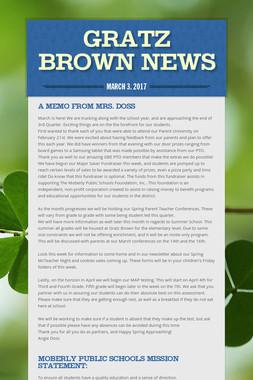 Gratz Brown News