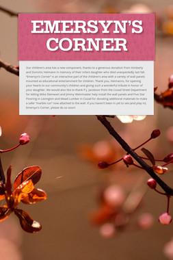 Emersyn's Corner