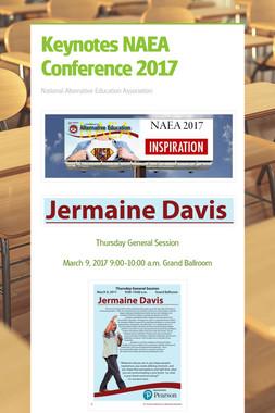 Keynotes NAEA Conference 2017