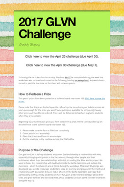 2017 GLVN Challenge