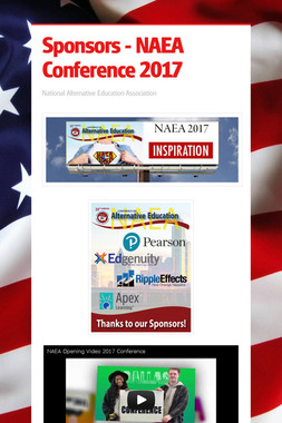 Sponsors - NAEA Conference 2017