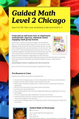 Guided Math Level 2 Chicago