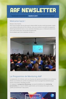 AAF Newsletter