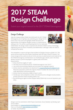2017 STEAM Design Challenge