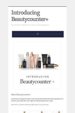Introducing Beautycounter+