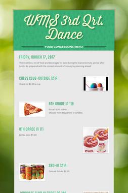 WMS 3rd Qrt. Dance