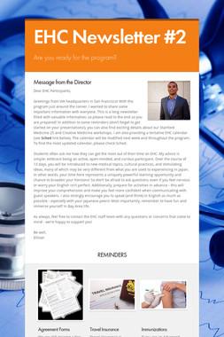EHC Newsletter #2