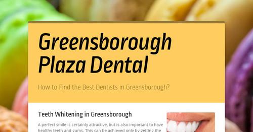 Greensborough Plaza Dental