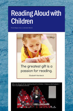 Reading Aloud with Children