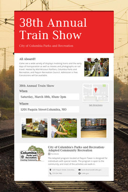 38th Annual Train Show