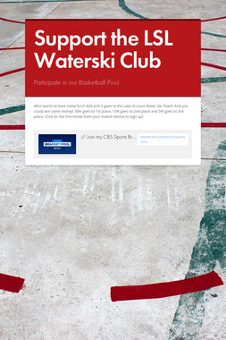 Support the LSL Waterski Club