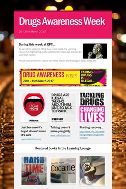 Drugs Awareness Week