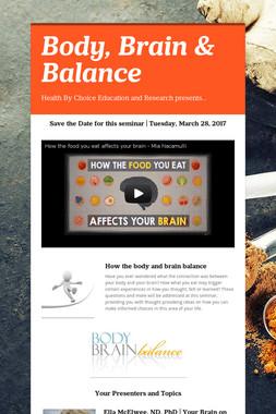Body, Brain & Balance
