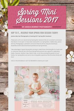 Spring Mini Sessions 2017