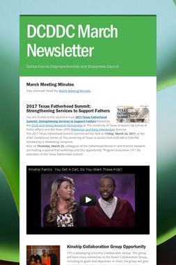 DCDDC March Newsletter