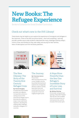 New Books: The Refugee Experience