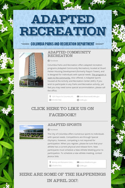 Adapted Recreation