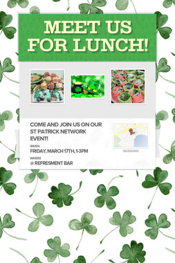 Meet us for lunch!