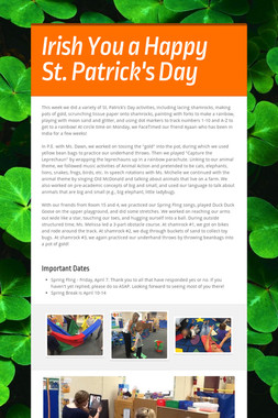 Irish You a Happy St. Patrick's Day