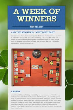 A week of Winners