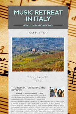 Music Retreat in Italy