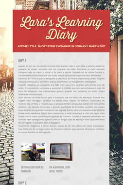 Lara's Learning Diary