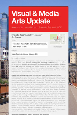 Visual & Media Arts Update