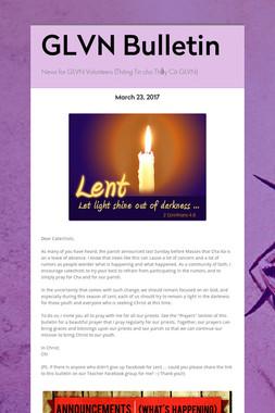 GLVN Bulletin