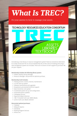 What Is TREC?