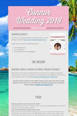 Connor Wedding 2018