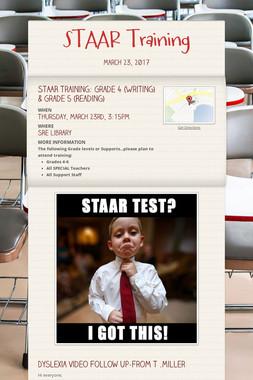 STAAR Training