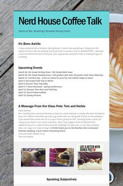 Nerd House Coffee Talk