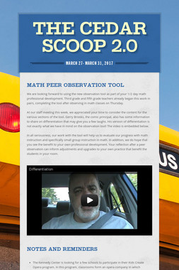 The Cedar Scoop 2.0