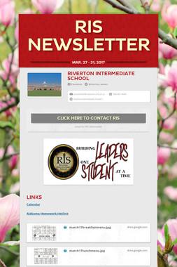 RIS Newsletter