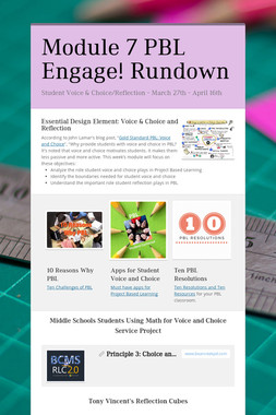 Module 7 PBL Engage! Rundown