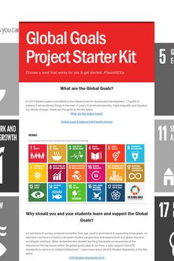 Global Goals Project Starter Kit