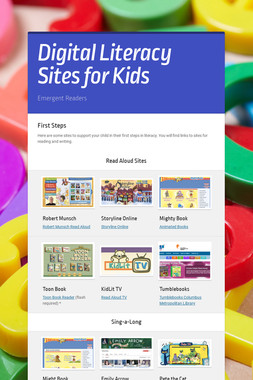 Digital Literacy Sites for Kids