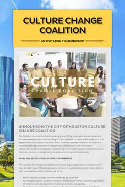 Culture Change Coalition