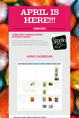 April is Here!!!