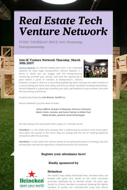 Real Estate Tech Venture Network