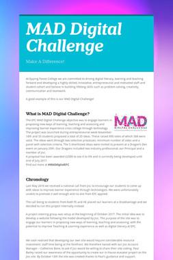 MAD Digital Challenge